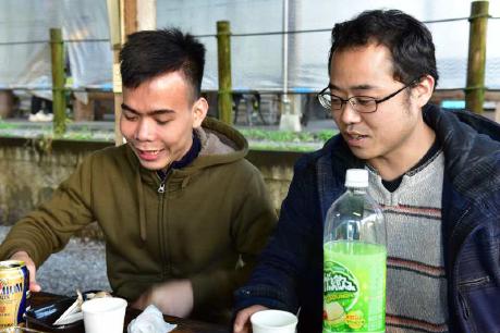 ベトナム人留学生の心のケアー